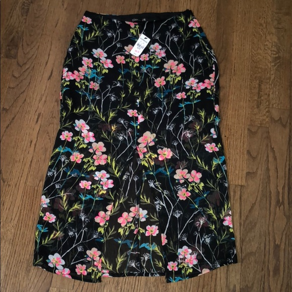 Express Dresses & Skirts - Express floral skirt
